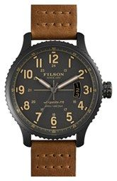 Filson 'The Mackinaw Field' Watch, 43mm