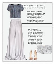 """""""Silver"""" by frenchfriesblackmg ❤ liked on Polyvore featuring Etro, Coast, Gianvito Rossi, women's clothing, women's fashion, women, female, woman, misses and juniors"""