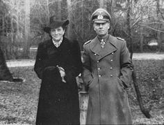 Field Marshal Erwin Rommel and his wife.