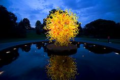 Dale Chihuly - at the New York Botanical Garden