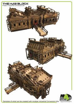 The Hab Block - Phase II 28mm modular Wargaming Terrain by Mad Gaming Terrain — Kickstarter