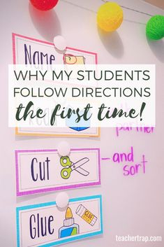 5 Quick Tricks for Getting Students to Follow Directions – Teacher Trap