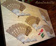 Posts about crochet written by Modern Crochet Club Hand Fans For Wedding, Wedding Hands, Tapestry Crochet, Crochet Shawl, Crochet Patterns Amigurumi, Crochet Toys, Thread Crochet, Crochet Stitches, Crochet Accessories