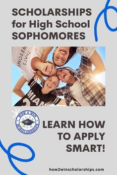 Did you know that scholarships are not just for high school seniors or college students? Many parents and students assume that the only scholarships available are for older students, but that simply is not true. Use this list from the #ScholarshipMom at how2winscholarships.com and get ahead of the game when it comes to paying for college! #college #scholarships #sophomores #highschool #collegecash In High School, High School Students, High School Seniors, College Students, Middle School, Financial Aid For College, Scholarships For College, College Planning, High School Writing Prompts