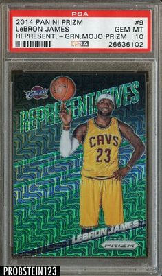 You won't be disappointed. Lebron James Rookie Card, Lebron James Cavaliers, Julius Randle, Lebron James Cleveland, Blake Griffin, Basketball Cards, Disappointed, Green, Sports