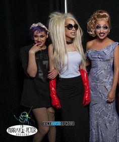 Adore Delano, Alaska Thunderfuck and Bianca Del Rio