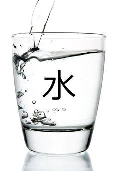 水 (mizu) = water