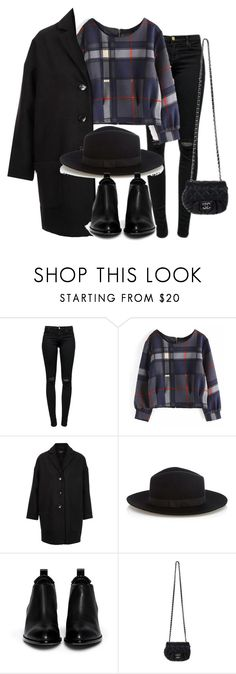 """""""Untitled #2277"""" by dceee ❤ liked on Polyvore featuring J Brand, Topshop, Warehouse, Alexander Wang and Chanel"""