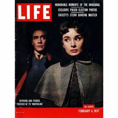 ◇ Audrey on the LIFE magazine of July 18, 1955. ◇ || #audreyhepburn #life #lifemagazine #audrey #hepburn #hepburnism #audreystyle #audreyhepburnstyle #oldhollywood #oldfashion #OH #classicmovie #classichollywood #classic #classicfashion #dress #vintage #vintageactress #vintagecelebrityphoto #vintagehollywood #vintagecelebrity #vintagefashion #50 #fifties #goldenage