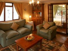 Self catering accommodation, Noordhoek, Cape Town Homey and comfortable lounge