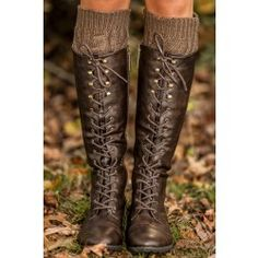 Cross The Line Boots-Chocolate - $58.00