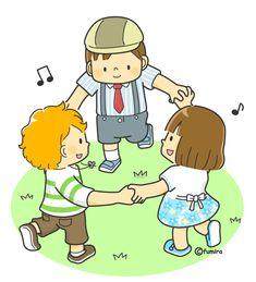 Qué alegría nos da ver a los niños jugando y disfrutando de la vida.
