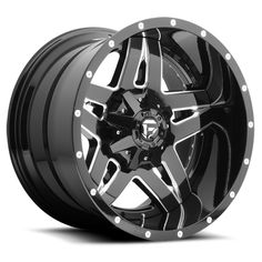Mht Fuel Offroad Full N Wheel With 6 On 135 And Bolt Pattern Black Milled Wheels Are Available
