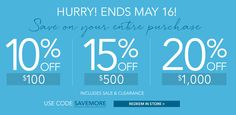 Hurry and get these deals from Pier 1 Imports until May 16! #Wheaton #KentsDeals