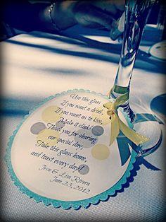 Wedding favor - wine