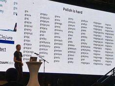 Polish is hard, variants of word gra (play) English Language Jokes, Poland Language, Stupid Funny Memes, Hilarious, Learn Polish, Polish Words, Top 20 Funniest, Polish Memes, Life Memes
