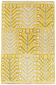 outdoor rug:Yellow Rug Stunning Yellow Outdoor Rug Wonderful Lemon Yellow Swedish Carpet Would Be Wonderful On A Wooden Floor In A Southern Yellow Outdoor Rug Motifs Textiles, Textile Patterns, Color Patterns, Print Patterns, Foto Transfer, Mellow Yellow, Rug Hooking, Kilims, Floor Rugs