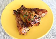 Balsamic-Glazed Drumsticks. Use coconut aminos.