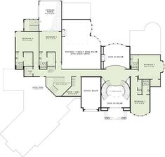 COOL house plans offers a unique variety of professionally designed home plans with floor plans by accredited home designers. Styles include country house plans, colonial, Victorian, European, and ranch. Blueprints for small to luxury home styles. European Plan, European House Plans, Luxury House Plans, European Style, Architectural Design House Plans, Architecture Design, Grand Foyer, Curved Walls, Mediterranean Style Homes