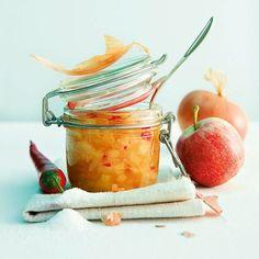 Zwiebel-Apfel-Chutney