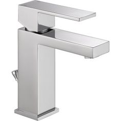 Delta Faucet 567LF-PP Modern Polished Chrome  One Handle Bathroom Faucets  | eFaucets.com