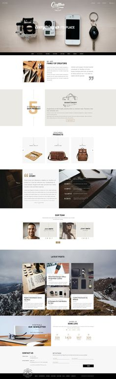 Craftlea is wonderful Responsive WordPress Blog Theme with WooCommerce suport. It has 5 stunning layouts. #wpblog #onlinemoney