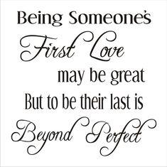 Wedding Sign Stencils-Being someone's First by SuperiorStencils