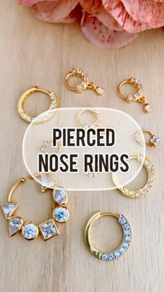 Nath Nose Ring, Nose Ring Jewelry, Diamond Nose Ring, Gold Nose Rings, Silver Toe Rings, Nose Stud, Gold Bangles Design, Gold Jewellery Design, Indian Wedding Jewelry