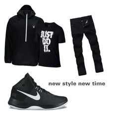 """""""cj"""" by geishauno on Polyvore featuring Spyder, NIKE, men's fashion and menswear"""