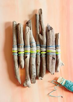 Whether you gather supplies in your neighborhood or at the crafts store, your kids will love bringing the outdoors inside with these easy natural craf