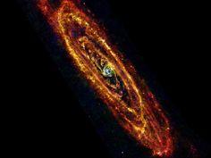 Cool Andromeda    http://www.nasa.gov/mission_pages/herschel/multimedia/pia16682.html    Credit: ESA/Herschel/PACS & SPIRE Consortium, O. Krause, HSC, H. Linz