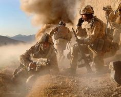 Royal Marines in Afghanistan Storm a Taliban Compound in 2007, via Flickr.