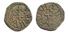 The styca was a small coin minted in pre-Viking Northumbria, originally in base silver and subsequently in a copper alloy. Production began in the 790s and continued until the 850s, though the coin remained in circulation until the Viking conquest of Northumbria in 867.