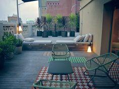 Playful penthouse Naoko in the center of Barcelona #barcelona #destinationbcn