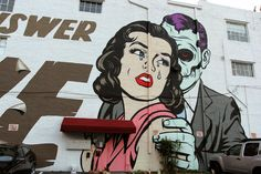 DFace Miami mural..Is the answer love?....