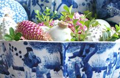 The Pink Pagoda: The December Blue and White Bash christma diy, december, pink christmas, chinoiseri christma, decemb blue, chinoiseri chic, chinoiserie chic, blues, bowls