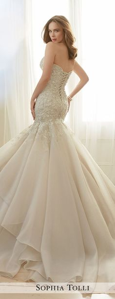 Wedding Dress by Sophia Tolli Spring 2017 Bridal Collection