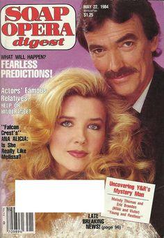Melody Thomas & Eric Braeden (Nikki & Victor #YR) 5/22/84 http://classicsodcovers.tumblr.com/ pic.twitter.com/S1vZNAt3LG