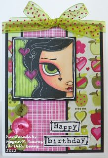 Dilly Beans Stamps: big eye art Dilly Beans, Coloring Tips, Colouring, Birthday Cards For Women, Big Eyes, Fun Crafts, Cute Girls, Card Making, Happy Birthday