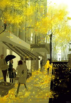 pascalcampion:  Drizzling.It's raining here today