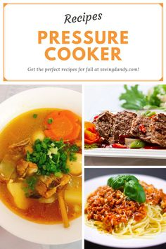 These Instant Pot recipe are delicious, easy to make and perfect for fall! Also would turn out great in any pressure cooker. #recipes #instantpot #fall #fallrecipes #happyfall