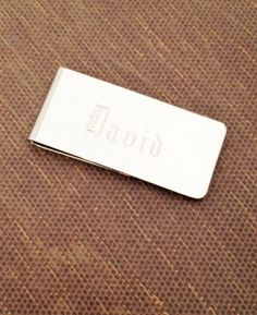 Personalized Money Clip Gift for Men Groomsman by netexchange, $14.95