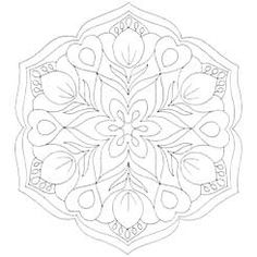 Tulip Mandala that exudes beauty, getting it on my right shoulder