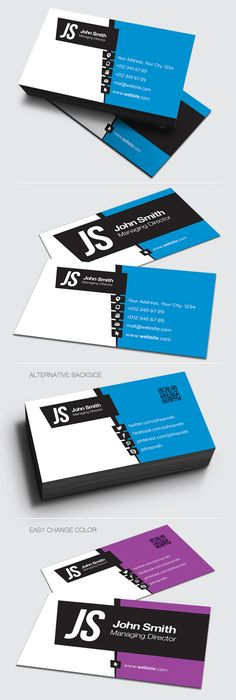 Corporate Business Card #businessscards #professionalbusinesscards #personalbusinessscards #creativedesign