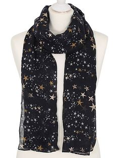 Star Print Scarf, read reviews and buy online at George at ASDA. Shop from our latest range in Women. It's true that you just can't have too many scarves in ...