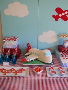 Just Call Me Martha Plane Party -- great for an #airplane obsessed boy or girl #birthdayparty