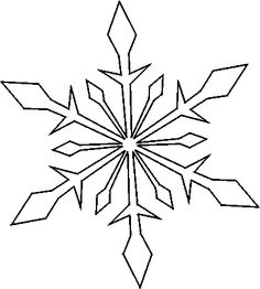 Where can you find free snowflake stencils?
