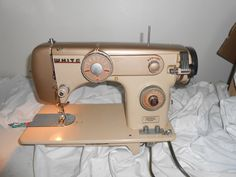 1960s White Model 2838 Sewing Machine Singer Janome Kenmore | eBay