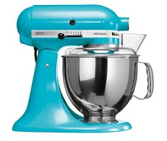 Mixer Crystal Blue Kitchenaid 5ksm150ps Colors Küchenmaschine