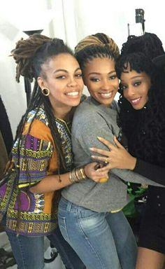 Empress mars, Dutchess lattimore, & Nerissa Irving